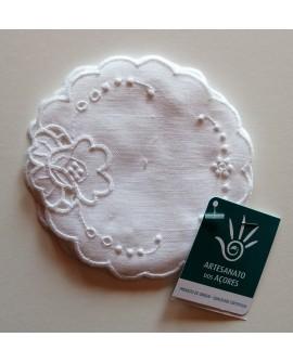 Embroidered coaster (6 units)  - AZO106