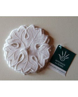 Embroidered coaster (6 units)  - AZO2270