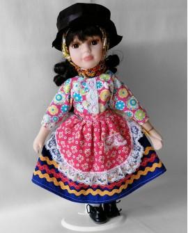 Porcelain Doll from Algarve - DOLP03
