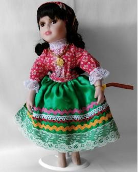 Porcelain Doll from Nazaré - DOLP01