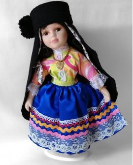 Porcelain Doll from Nazaré - DOLP02