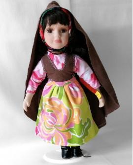 Porcelain Doll from Trás-os-Montes - DOLP04