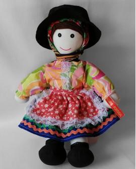Tissue Doll from Algarve - DOLT04