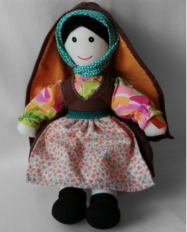 Tissue Doll from Trás-os-Montes - DOLT06